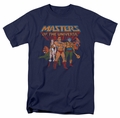Masters Of The Universe t-shirt Team of Heroes mens navy
