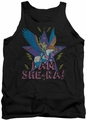 Masters Of The Universe tank top I Am She Ra mens black