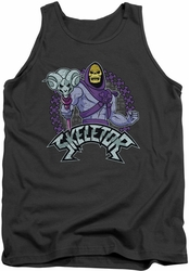 Masters Of The Universe tank top Skeletor mens charcoal