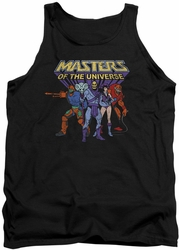 Masters Of The Universe tank top Team Of Villains mens black