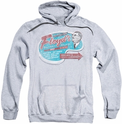 Mayberry pull-over hoodie Floyd's Barber Shop adult athletic heather