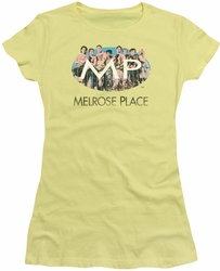 Melrose Place juniors t-shirt Meet At The Place banana