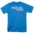 Melrose Place t-shirt Logo mens turquoise