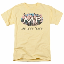 Melrose Place t-shirt Meet At The Place mens banana