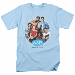 Melrose Place t-shirt Season 1 Original Cast mens light blue
