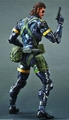 Metal Gear Solid V Ground Zeroes Play Arts Kai Snake figure
