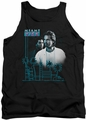 Miami Vice tank top Looking Out mens black