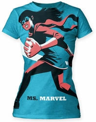 Michael Cho Ms. Marvel juniors tunic Turquoise womens