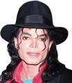 Michael Jackson Pop Star black fedora