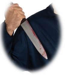 Michael Myers Butcher Knife costume accessory from Halloween Movie