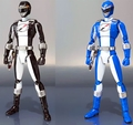 Mighty Morphin Blue & Black Overdrive Power Ranger 2-pack Operation Overdrive S.H.Figuarts