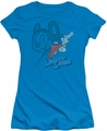 Mighty Mouse juniors t-shirt Double Mouse turquoise
