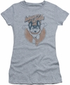 Mighty Mouse juniors t-shirt Flying With Purpose heather