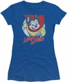 Mighty Mouse juniors t-shirt Mighty Circle royal blue