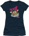 Mighty Mouse juniors t-shirt The Mightiest navy