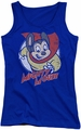 Mighty Mouse juniors tank top Mighty Circle royal
