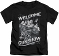 Mighty Mouse kids t-shirt Mighty Gunshow black