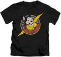 Mighty Mouse kids t-shirt Mighty Hero black