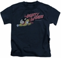 Mighty Mouse kids t-shirt Mighty Retro navy