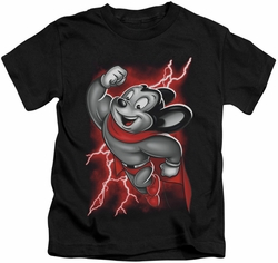Mighty Mouse kids t-shirt Mighty Storm black