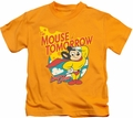 Mighty Mouse kids t-shirt Mouse Of Tomorrow gold