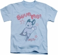 Mighty Mouse kids t-shirt Save Me light blue