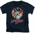 Mighty Mouse kids t-shirt The One The Only navy
