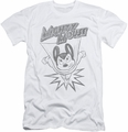 Mighty Mouse slim-fit t-shirt Bursting Out mens white