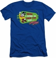 Mighty Mouse slim-fit t-shirt Here I Come mens royal