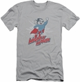 Mighty Mouse slim-fit t-shirt Mighty Blast Off mens silver