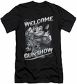Mighty Mouse slim-fit t-shirt Mighty Gunshow mens black