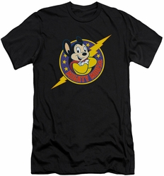 Mighty Mouse slim-fit t-shirt Mighty Hero mens black