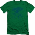 Mighty Mouse slim-fit t-shirt Mighty Mouse mens kelly green