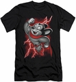 Mighty Mouse slim-fit t-shirt Mighty Storm mens black