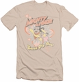 Mighty Mouse slim-fit t-shirt Saved My Day mens cream