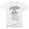 Mighty Mouse t-shirt Bursting Out mens white