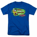 Mighty Mouse t-shirt Here I Come mens royal