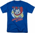 Mighty Mouse t-shirt Mighty Circle mens royal blue