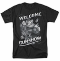 Mighty Mouse t-shirt Mighty Gunshow mens black