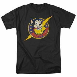 Mighty Mouse t-shirt Mighty Hero mens black