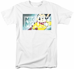 Mighty Mouse t-shirt Mighty Rectangle mens white
