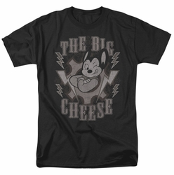 Mighty Mouse t-shirt The Big Cheese mens black