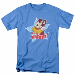 Mighty Mouse t-shirt You're Mighty mens carolina blue