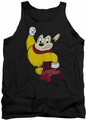 Mighty Mouse tank top Classic Hero mens black