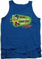Mighty Mouse tank top Here I Come mens royal