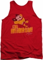 Mighty Mouse tank top I'M Mighty mens red