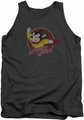 Mighty Mouse tank top Mighty Circle mens charcoal
