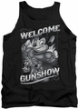 Mighty Mouse tank top Mighty Gunshow mens black
