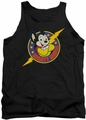 Mighty Mouse tank top Mighty Hero mens black
