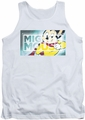 Mighty Mouse tank top Mighty Rectangle mens white